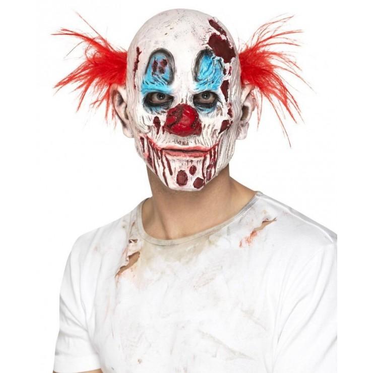 Masque clown tueur mousse de latex
