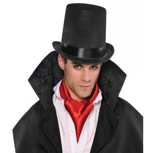 Foulard rouge de vampire