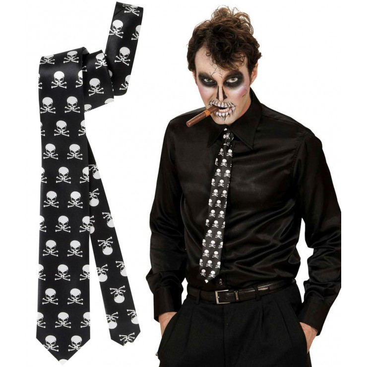 Cravate squelette