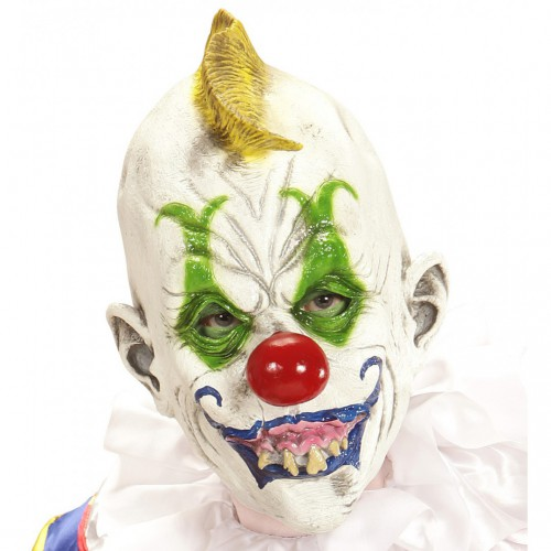 Masque clown tueur blanc
