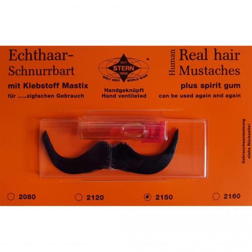 Moustache Elégan noire luxe