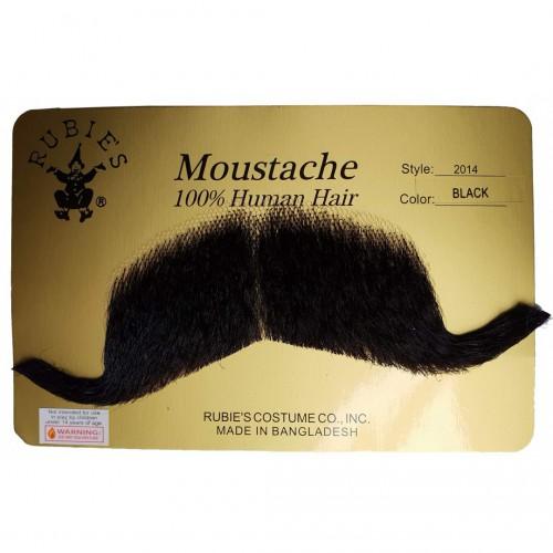 Moustache major noire luxe
