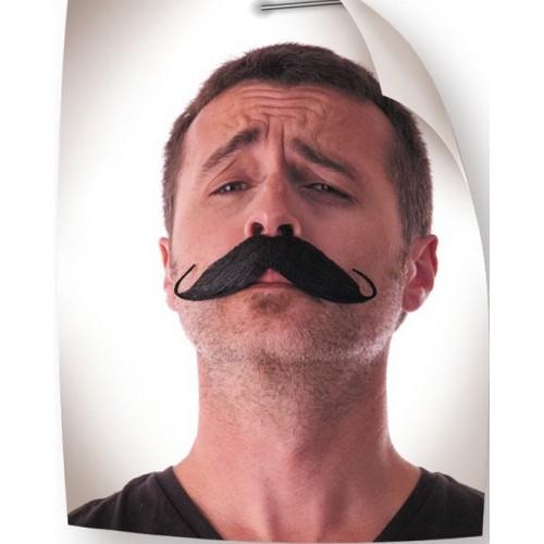 Moustache aristo noire