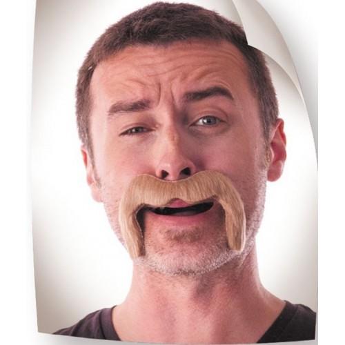 Moustache Watson blond foncé