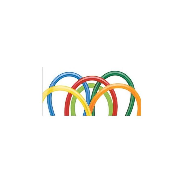 250 Ballons à modeler Qualatex carnival