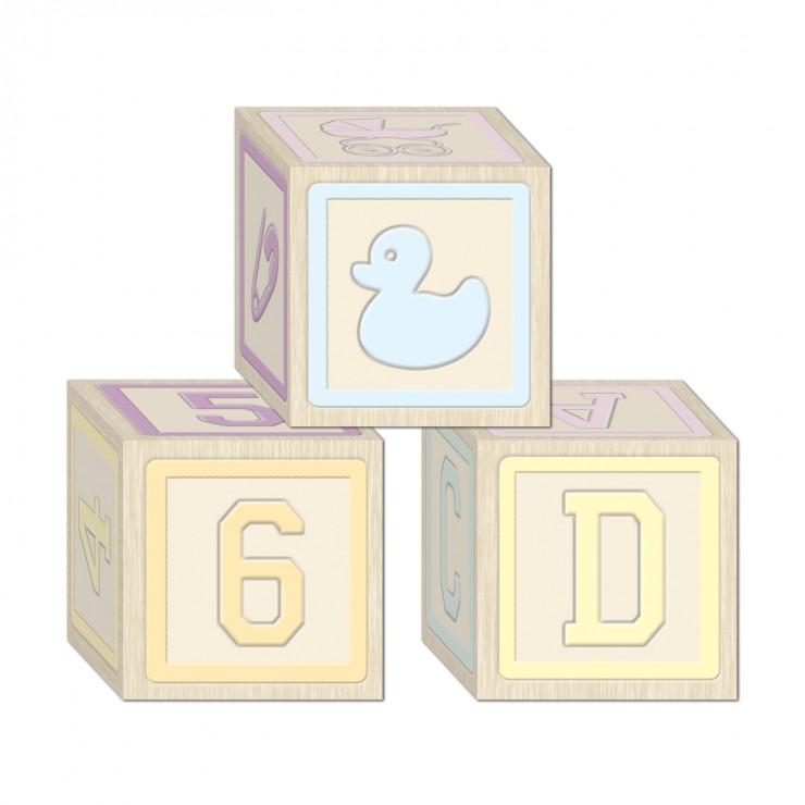 Cube à empiler bébé