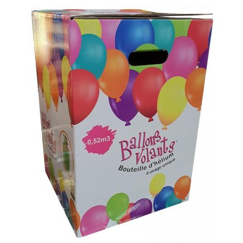 Bouteille d'hélium pour 62 ballons