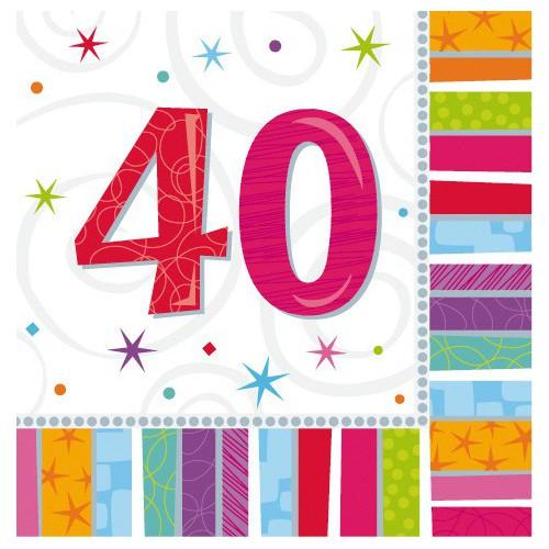 Serviettes 40