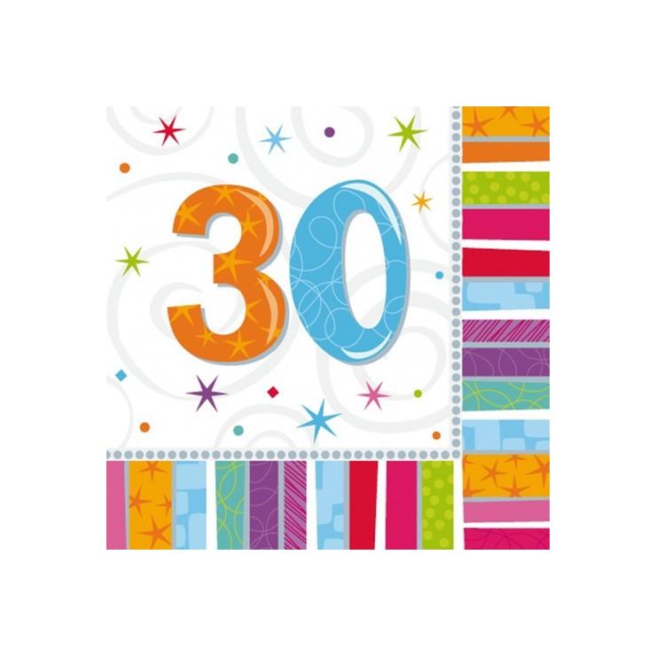 Serviettes 30