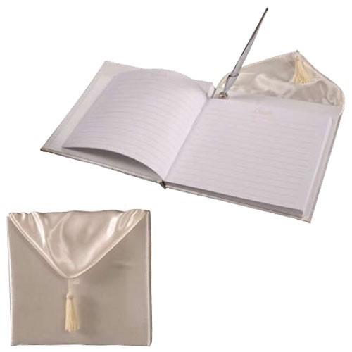 Livre d'or mariage avec stylo