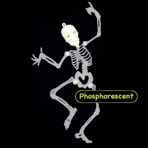 Squelette phosphorescent 48 cm