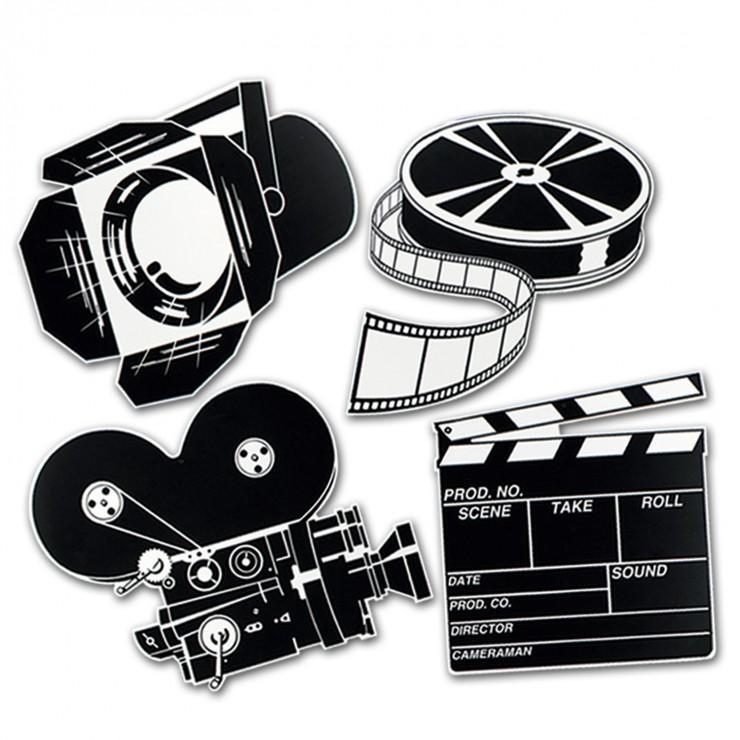 Découpages cinéma x4
