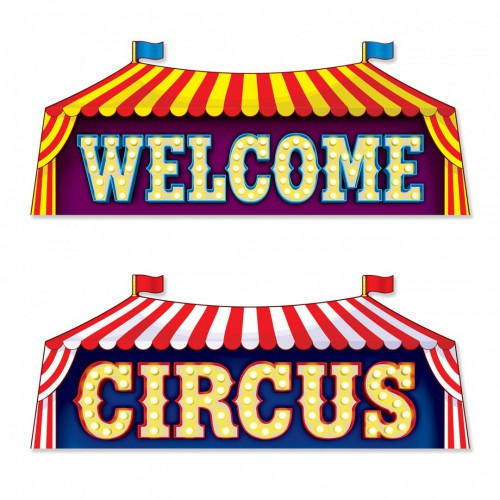 Découpage cirque x2
