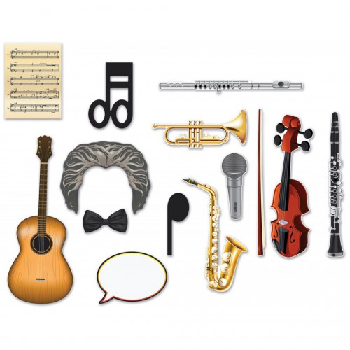 Accessoires photobooth orchestre musical