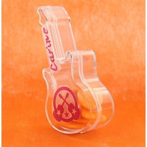 Contenant à dragées Guitare x3