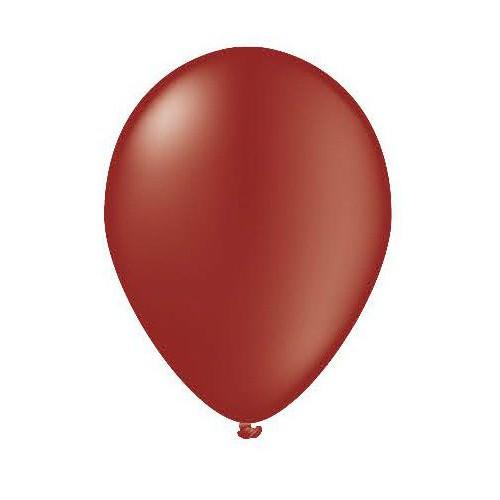 25 ballons bordeaux