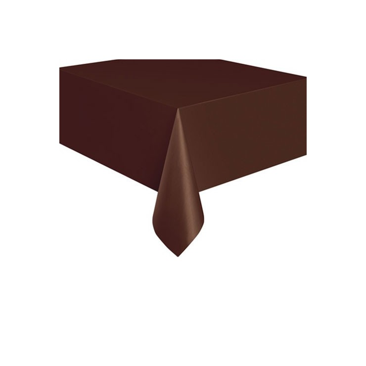 Nappe chocolat en plastique