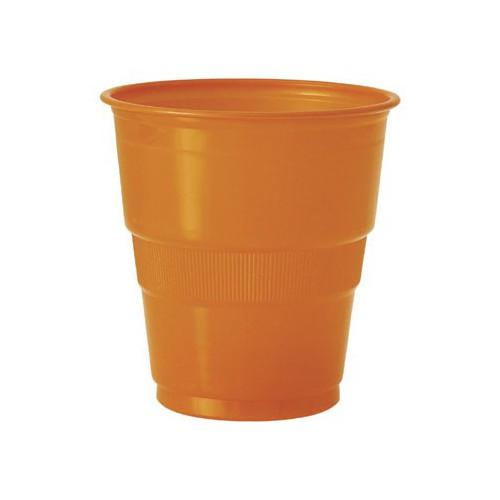 Gobelets orange x12