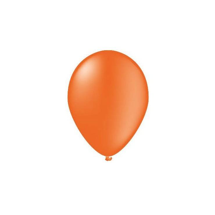 25 ballons orange