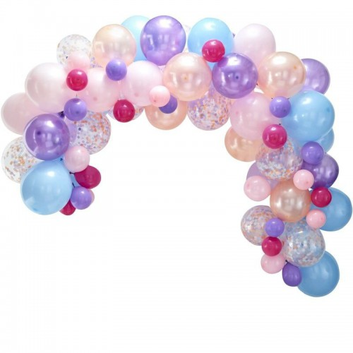 Kit arche de ballons pastel