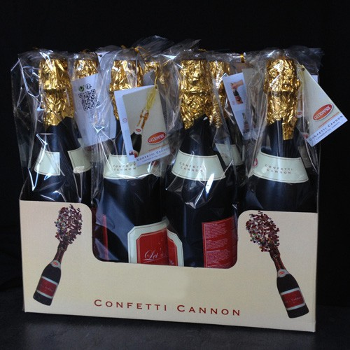 Canon à confettis Champagne