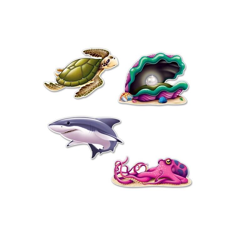Créatures marines x4