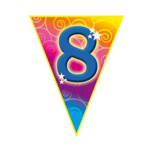 Guirlande fanions 8 ans