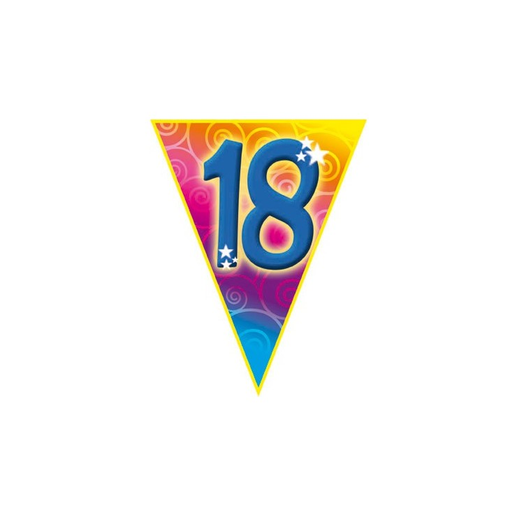 Guirlande fanions 18 ans