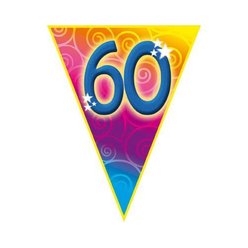 Guirlande fanions 60 ans