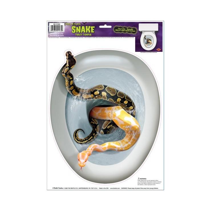 Serpents dans les WC