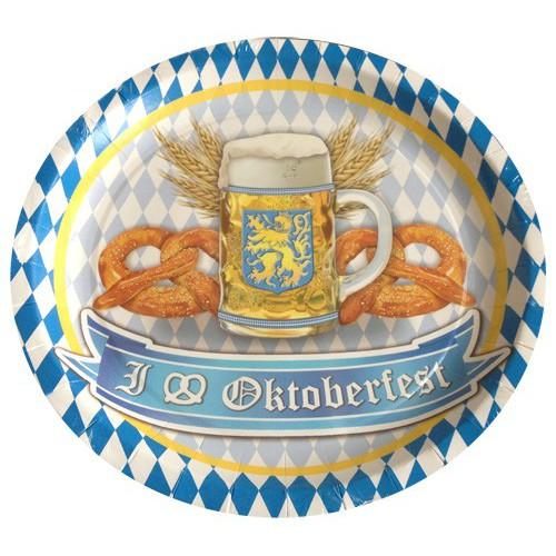 Assiettes Oktoberfest x8