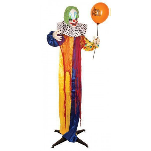 Deco animée clown 165 cm