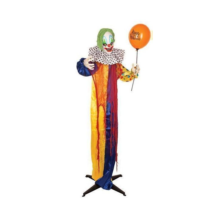 Deco animée clown 165 cm