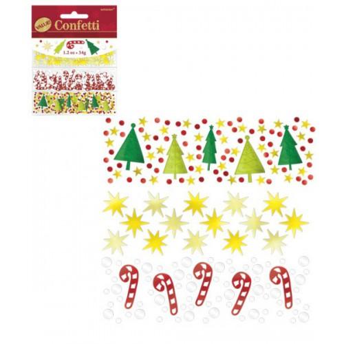 Confetti deco Noël