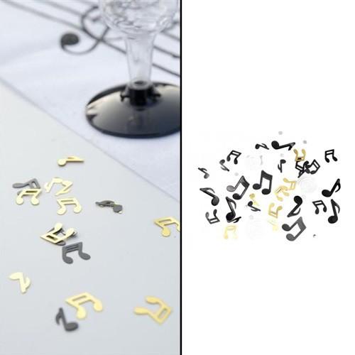 Confettis notes de musique