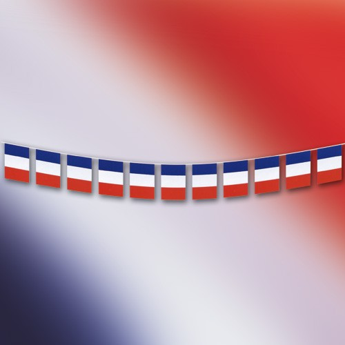 Guirlande fanions France 365 cm