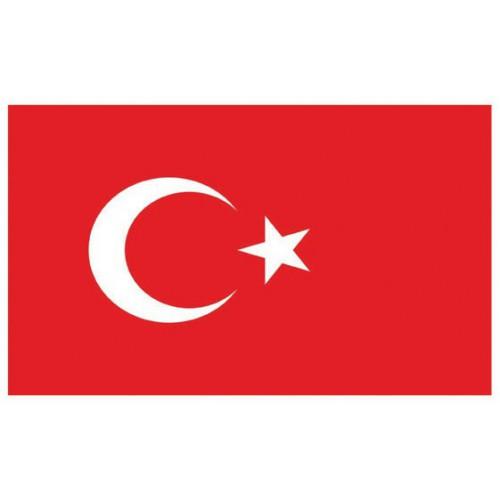 Pavillon Turquie 150 x 90 cm