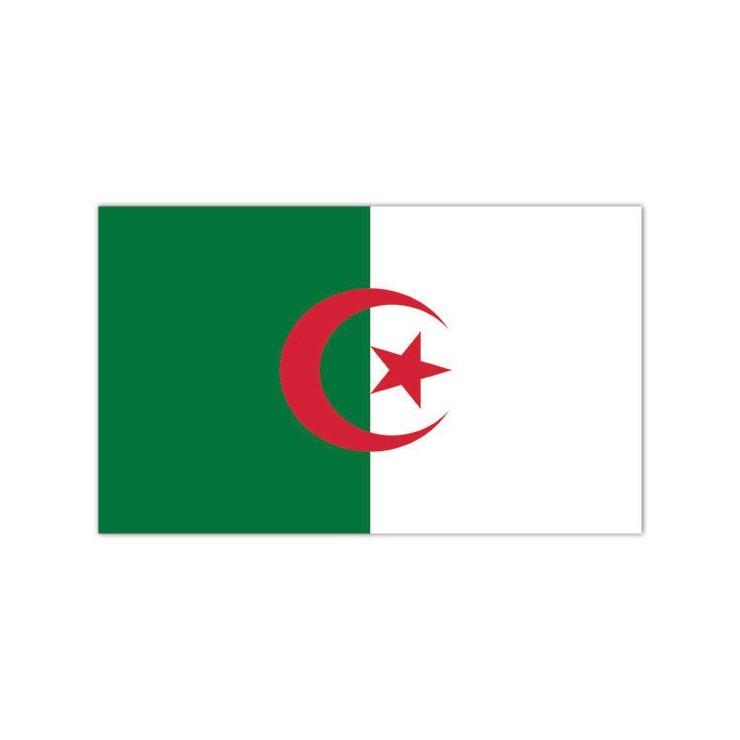 Pavillon Algérie 150 x 90 cm