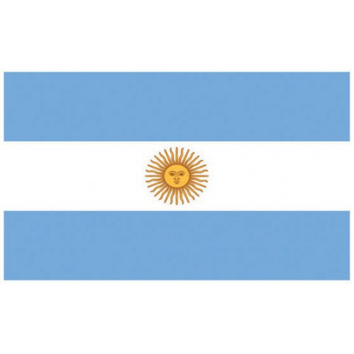 Pavillon Argentine 150 x 90 cm