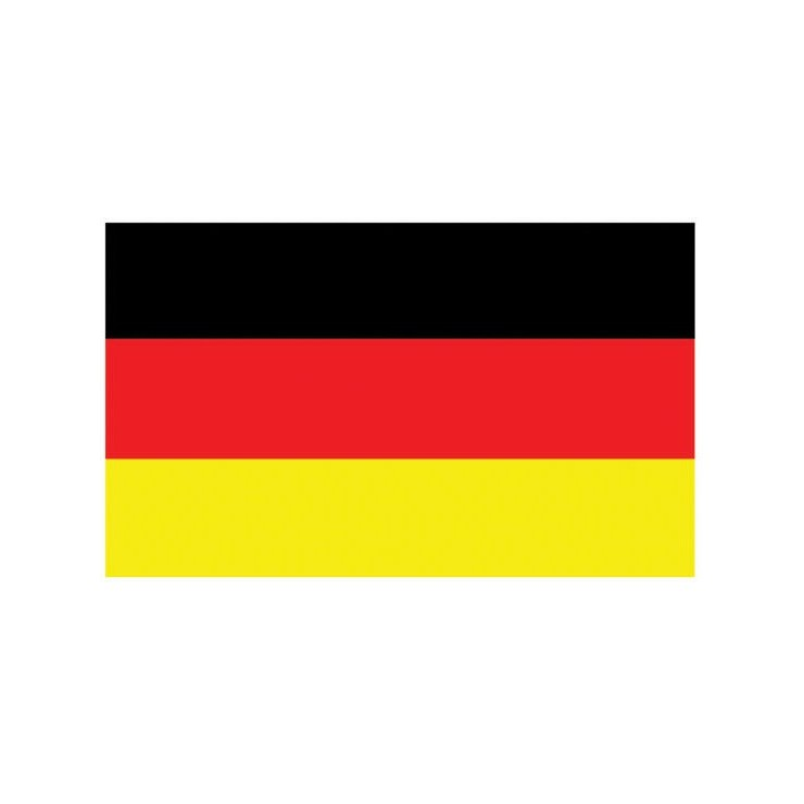 Pavillon Allemagne 150 x 90 cm