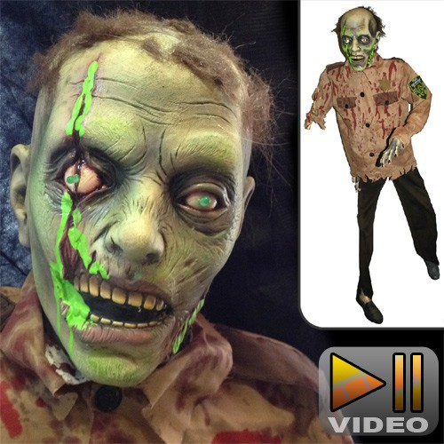 Nuclear Cop Zombie