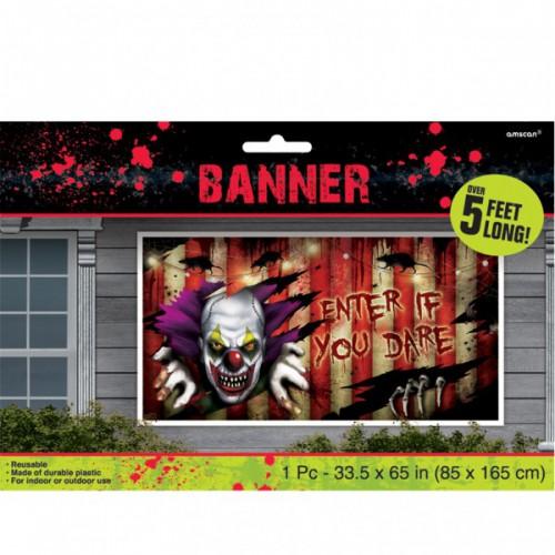 Creepy circus- Bannière 165 cm