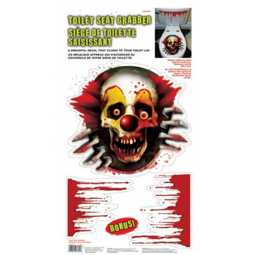 Creepy circus - Clown dans les wc