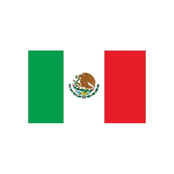 Pavillon Mexique 150 x 90 cm