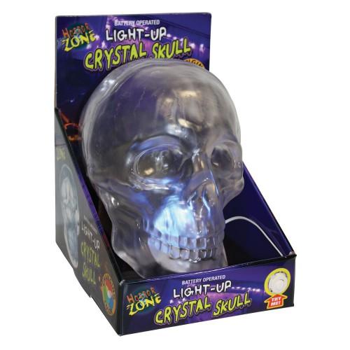 Crâne cristal lumineux
