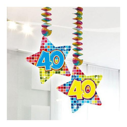 Suspensions anniversaire 40 ans