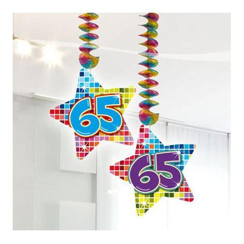 Suspensions anniversaire 65 ans