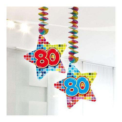Suspensions anniversaire 80 ans