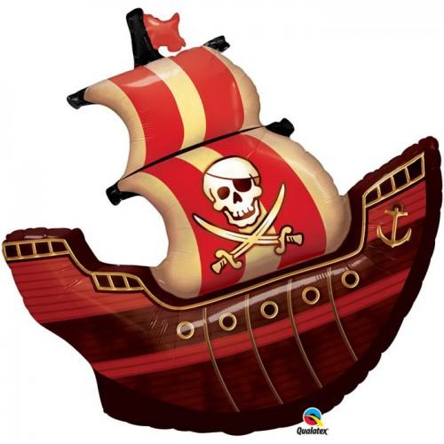 Ballon bateau pirate 101cm