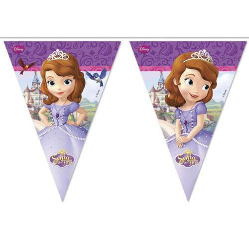 Guirlande fanions Princesse Sofia